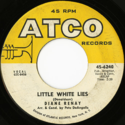 LITTLE WHITE LIES / DIANE RENAY
