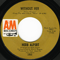 WITHOUT HER HERB ALPERT