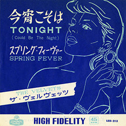 TONIGHT(COULD BE THE NIGHT) / THE VELVETS